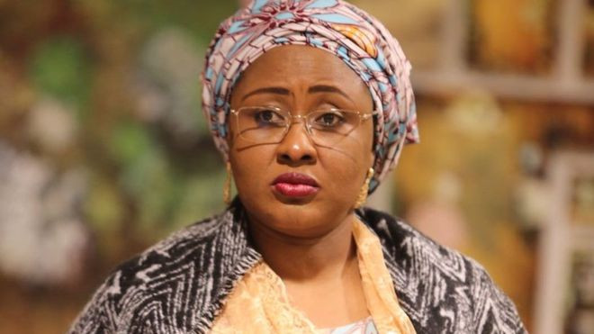 'Save the people'- Aisha Buhari tells President Buhari and the service chiefs (video)