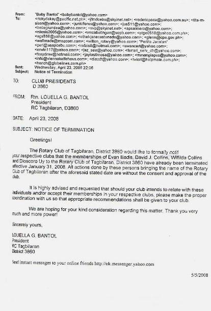 Rotary Club of Tagbilaran. The trial part 2.