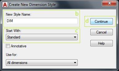 Cara Membuat Dimensi di Autocad