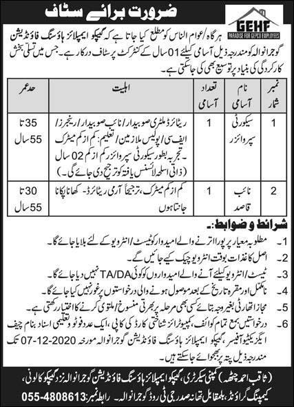 Gepco Employees Housing Foundation Jobs
