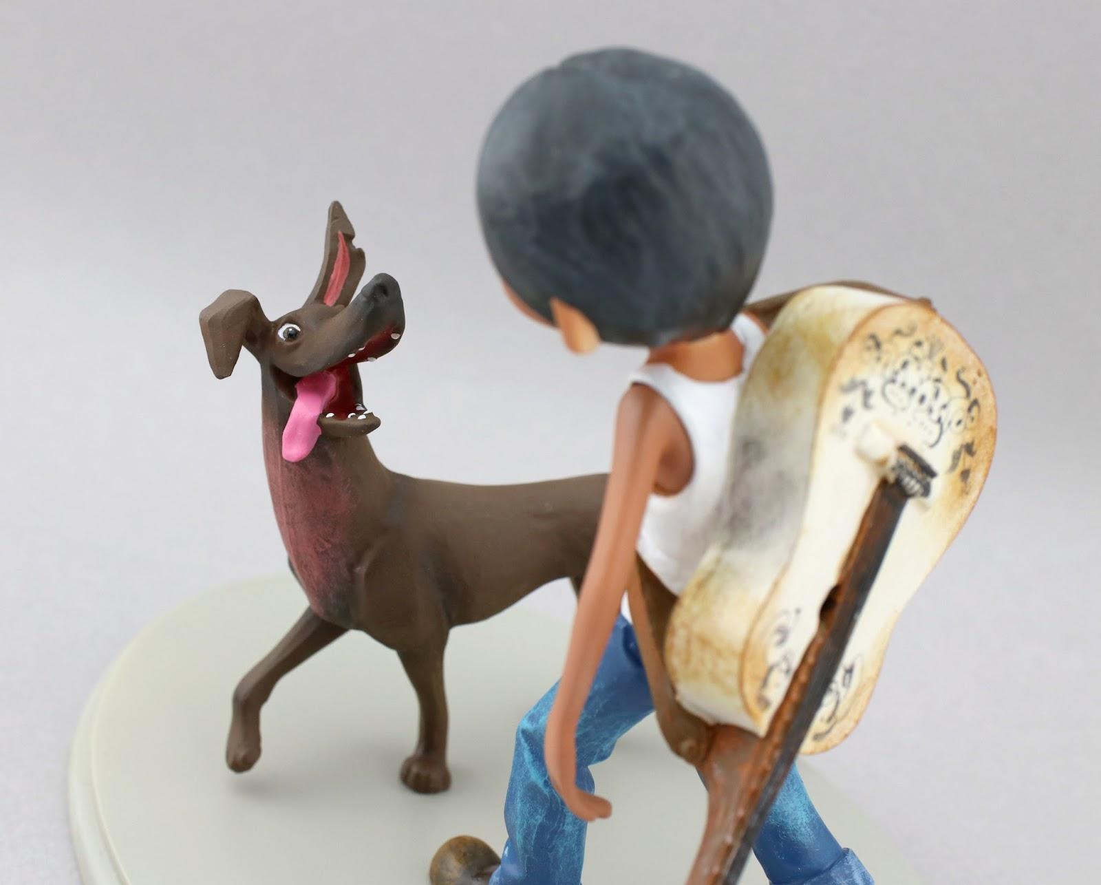 coco miguel and dante statue figure enesco