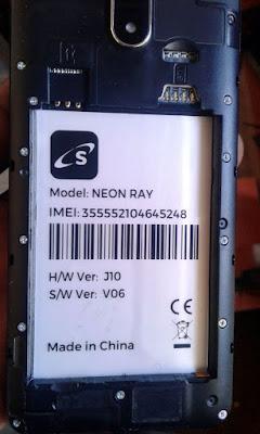 Safaricom Neon Ray Flash File 3