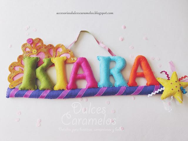 nombre fieltro la princesa kiara