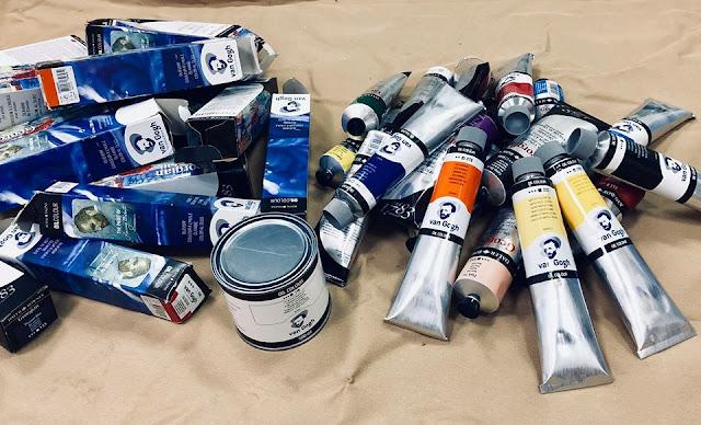 mua tranh sơn dầu giá rẻ, xưởng vẽ tranh trieuart.com