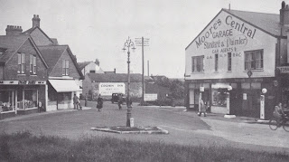 Moore's Central Garage Ltd - Milford on Sea 1930s