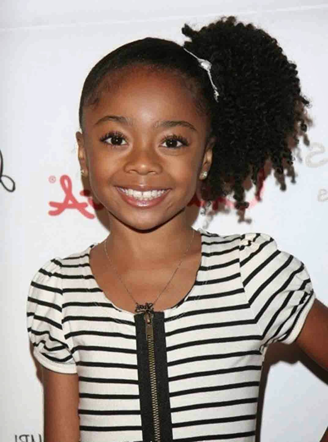 Cute Hairstyles For Little Black Girls With Short Hair