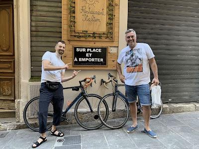 carbon road bike rental in Nice France