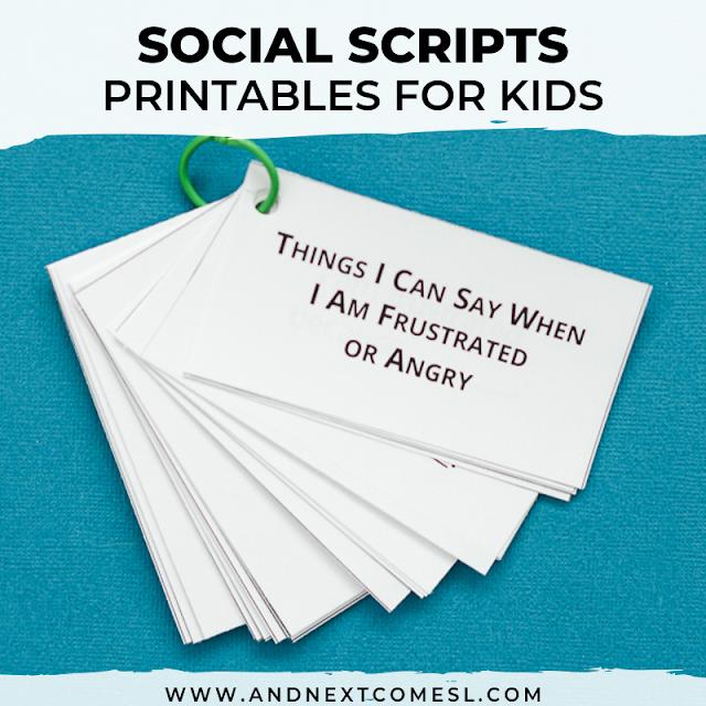Social scripts examples
