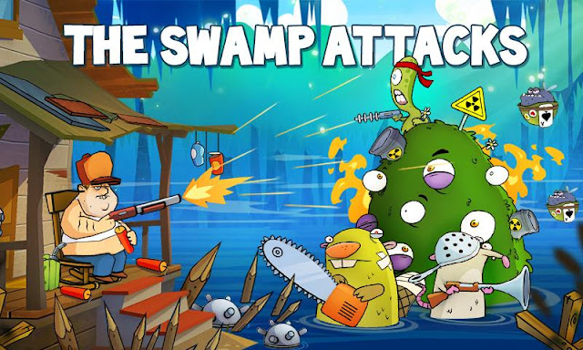 Swamp attack mod unlimited coins