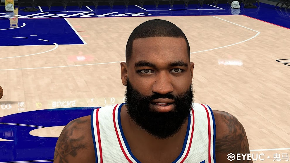 Kyle O'Quinn Cyberface and Body Model By Ghost Horse [FOR 2K21]
