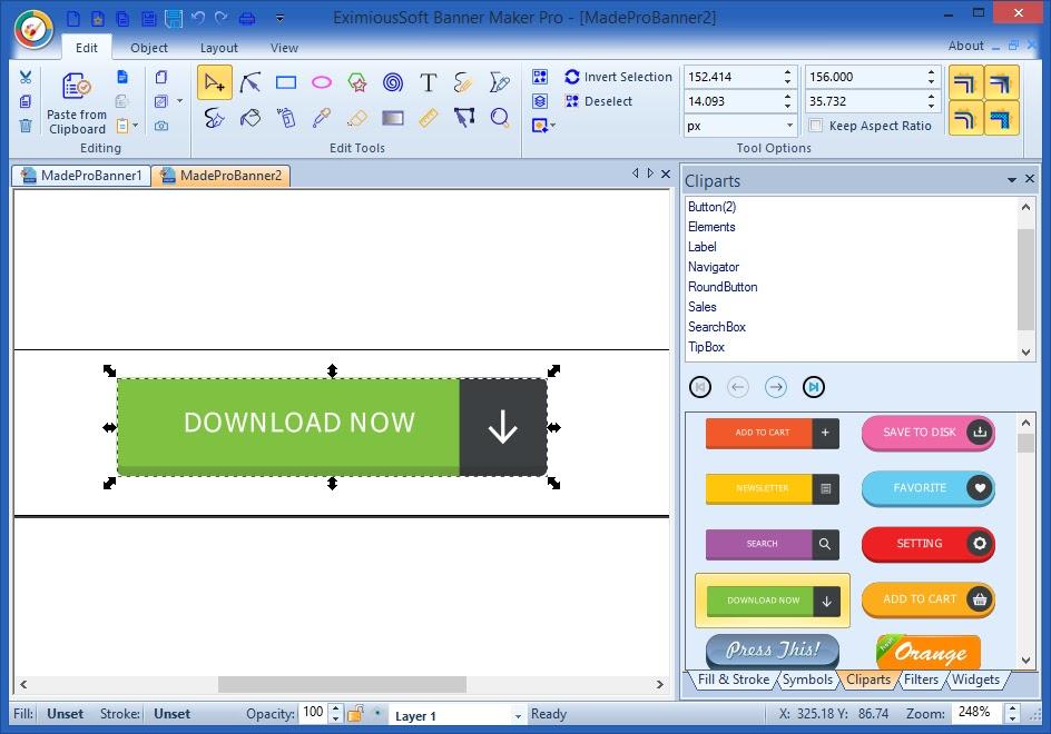 تحميل برنامج EximiousSoft Banner Maker Pro 3.65 لإنشاء لافتات إعلانية