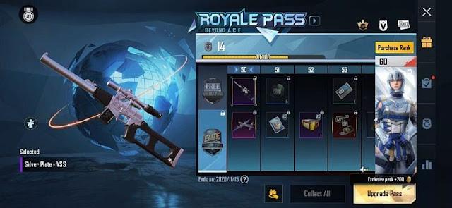 gun skins from royal pass