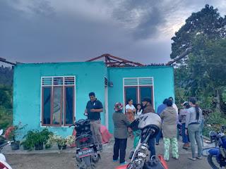 101 Rumah Warga Rusak Dihantam Angin Puting Beliung di Kecamatan Tarutung dan Siatas Barita
