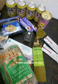 Disfrutabox: Cruzcampo radler, fragata, OroWeat, Milka