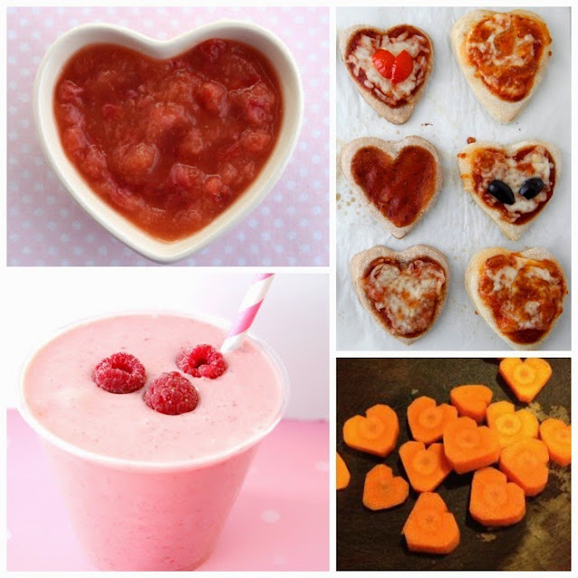25 Healthy Snacks for Children for Valentine's Day
