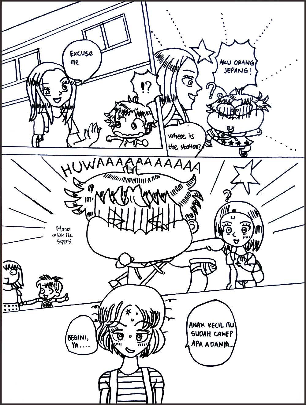 Gambar Contoh Dialog Anak Lucu Gambar Kartun