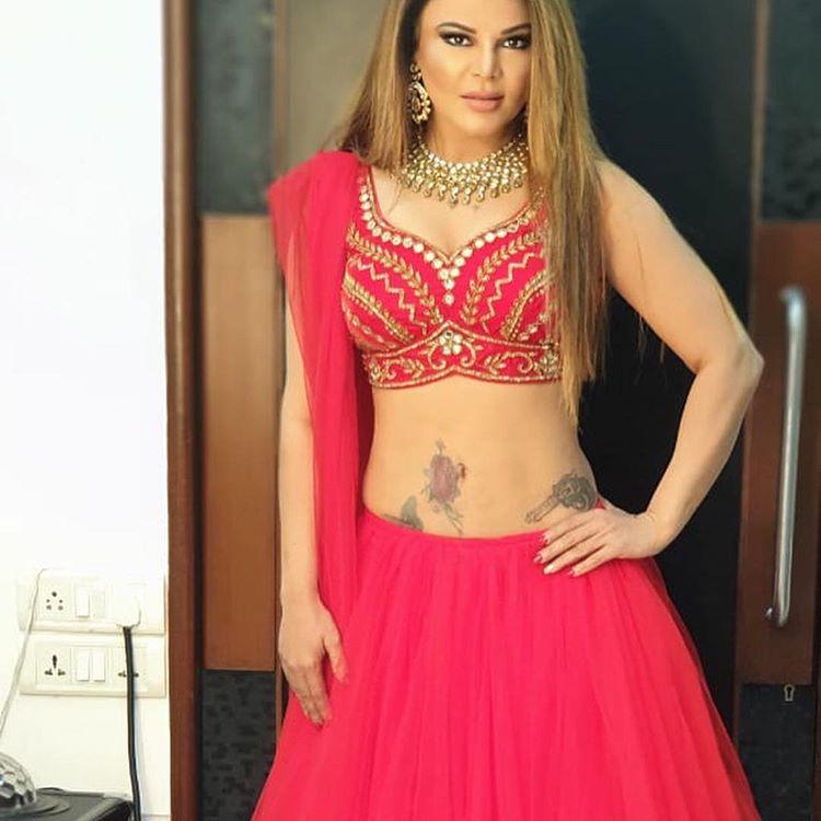 Beautiful Dress Rakhi Sawant Marriage Photos