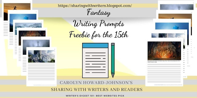 Fantasy Writing Prompt Pages Included