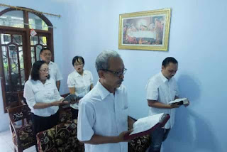 Momentum Tingkatkan Pelayanan Sesama Peringati Kenaikan Isa Almasih di Rumah