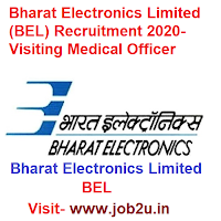 Bharat Electronics Limited BEL Recruitment 2020, Visiting Medical Officer