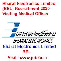 Bharat Electronics Limited BEL Recruitment 2020, Visiting Medical Officer