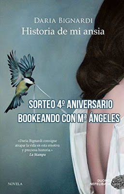 Sorteo Bookeando con Mª Angeles