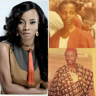 Photo of Toke Makinwa And Parents