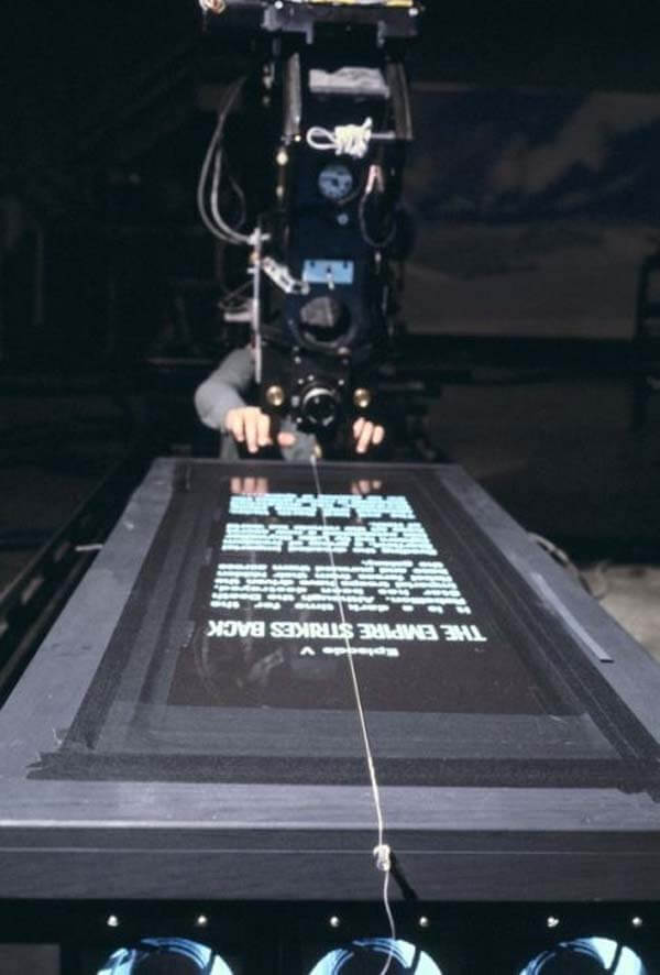 60 Iconic Behind-The-Scenes Pictures Of Actors That Underline The Difference Between Movies And Reality - Star Wars, the galaxy far far away was actually pretty close.