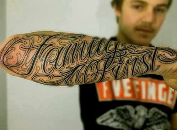 Arm Tattoos For Men Family Best Tattoo Ideas