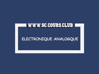 cour electronique,electronique pdf,Exercices et Problème corrigé d'électronique analogique pdf