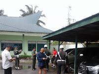 Korem 022/PT Laksanakan Pemeriksaan Kendaraan Dinas dan Pribadi Milik Anggota Dan PNS Korem 022/PT