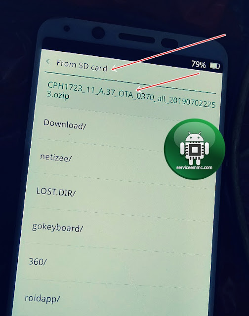 Kumpulan Fimrware Update ZIp/Ozip Ota Oppo A5 2020 New Security