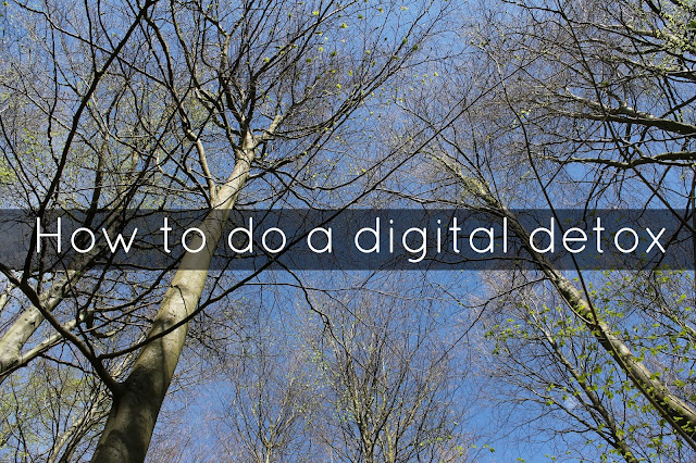 How to do a digital detox