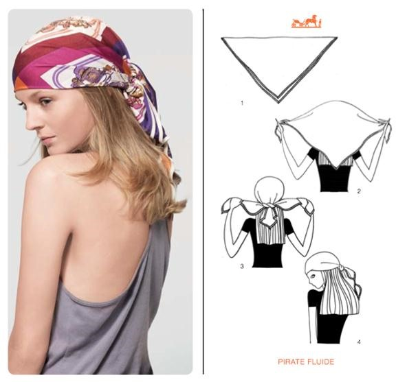 How To Style A Square Scarf For Summer