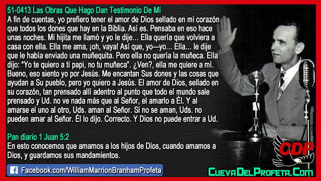 Pero yo quiero a Jesús, el amor de Dios - William Branham en Español