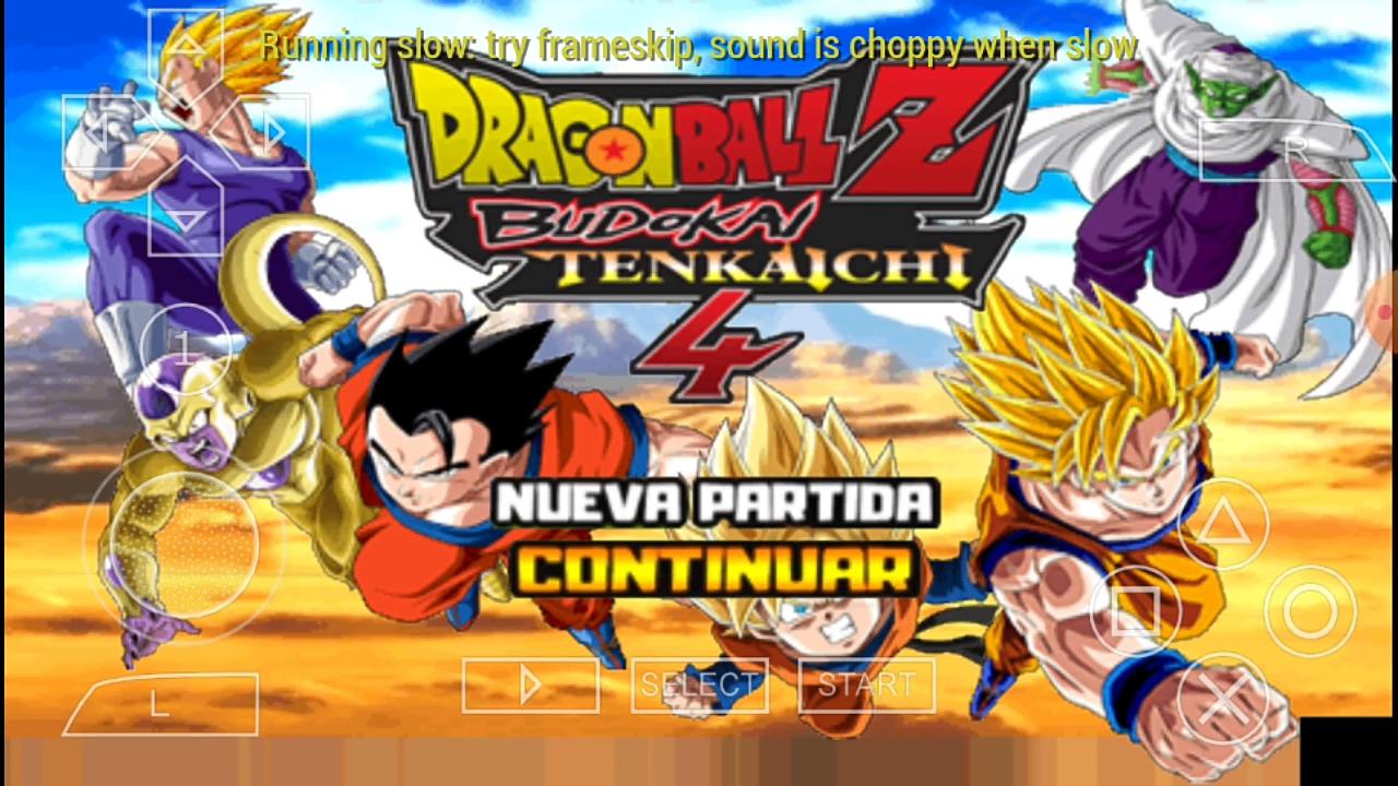 DBZ Budokai Tenkaichi 3 Mod PSP