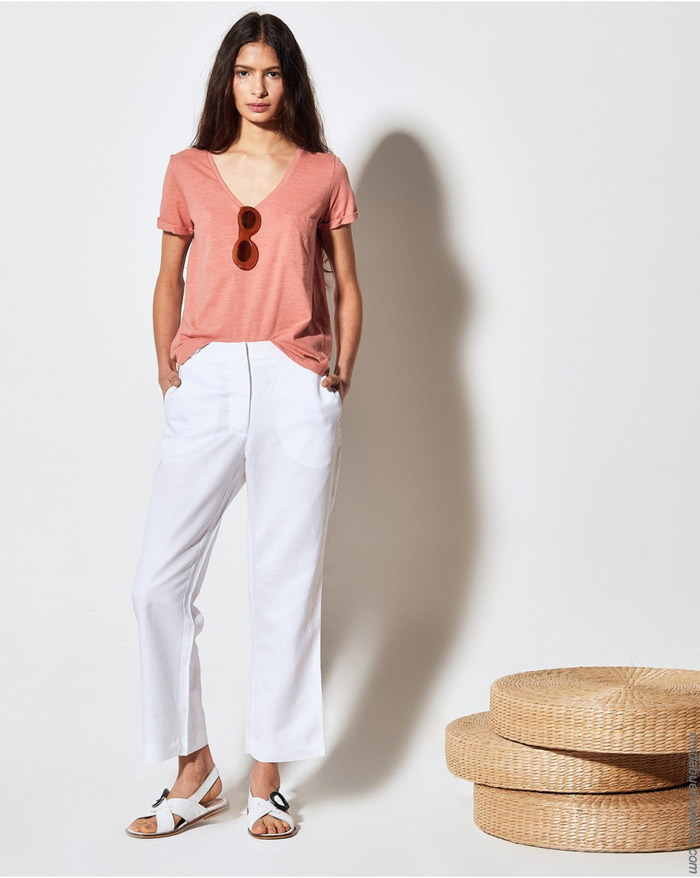 Remeras y pantalones primavera verano 2020 moda ropa de mujer.