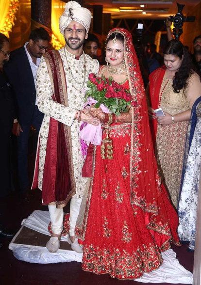 Divyanka Tripathi, Vivek Dahiya Wedding Pics
