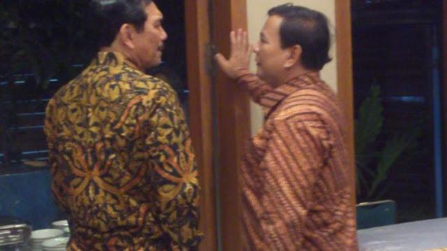 Pertemuan Luhut dengan Prabowo Dinilai sebagai Misi Menjegal Gatot Nyapres