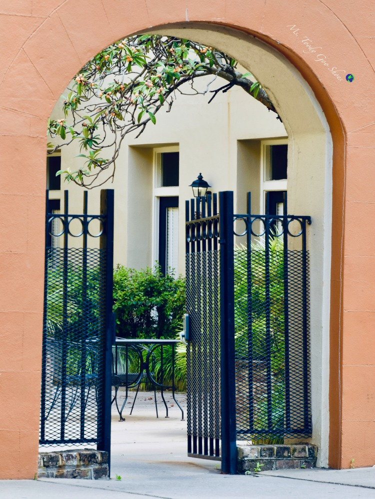 #12 of 20 pretty archways around the world; this one spotted in Charleston, South Carolina | Ms. Toody Goo Shoes