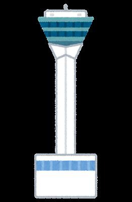 五稜郭タワーのイラスト