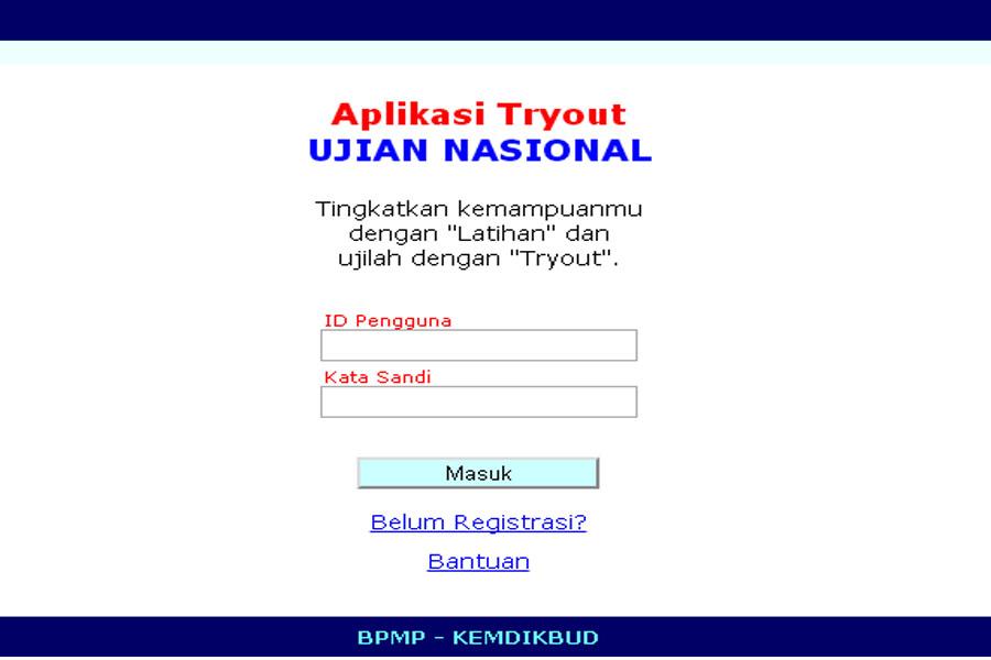 Aplikasi Try Out Ujian Nasional Un Tahun 2016 Bagi