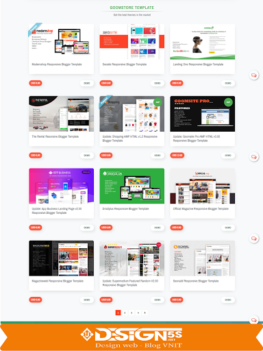 Goomsite AMP Responsive Blogger Template Free Download - Ảnh 2