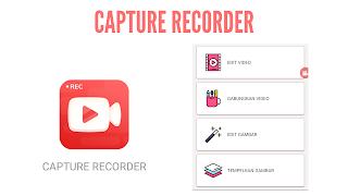 Aplikasi capture recorder output berupa video yang bisa diedit