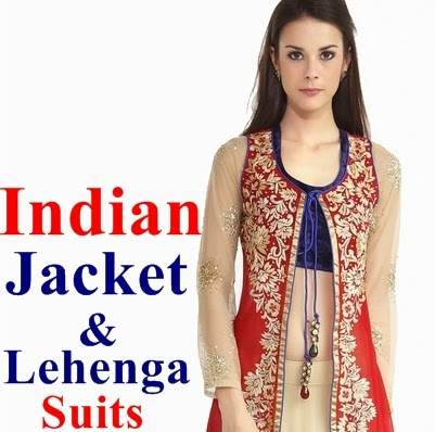 Indian Jacket and Lehenga Designs