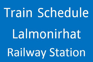 Trains from Lalmonirhat Station