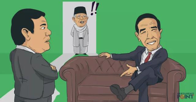 Hot Issue : Gerindra Gabung Koalisi Jokowi. Mungkinkah?