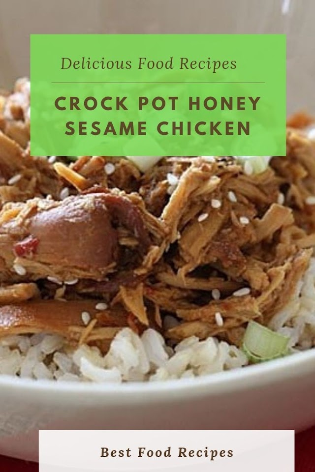 #CROCK #POT #HONEY #SESAME #CHICKEN