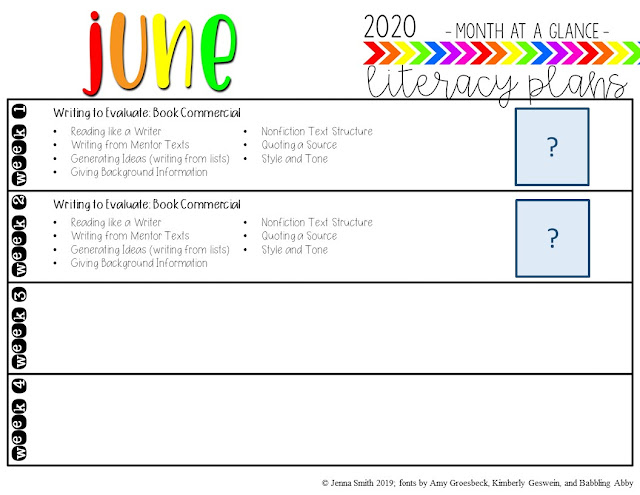 Scope and Sequence - June