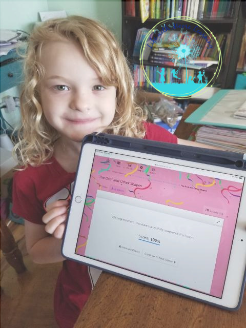 CTCMath is a great online homeschool curriculum for kids who can't sit still and are easily distracted!